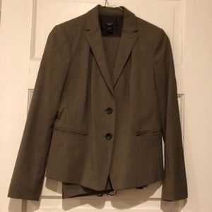 Light brown suit jacket and pants